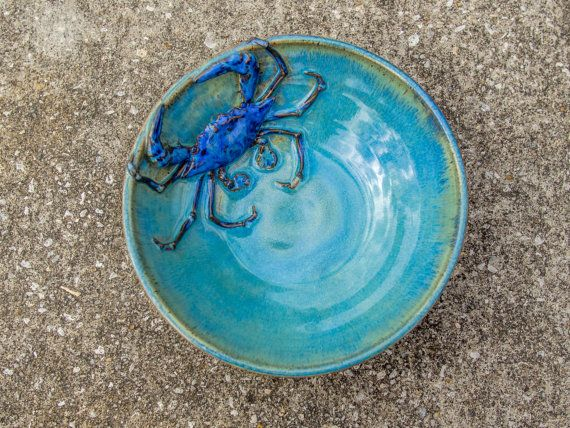 Crab Bowl Medium Stoneware
