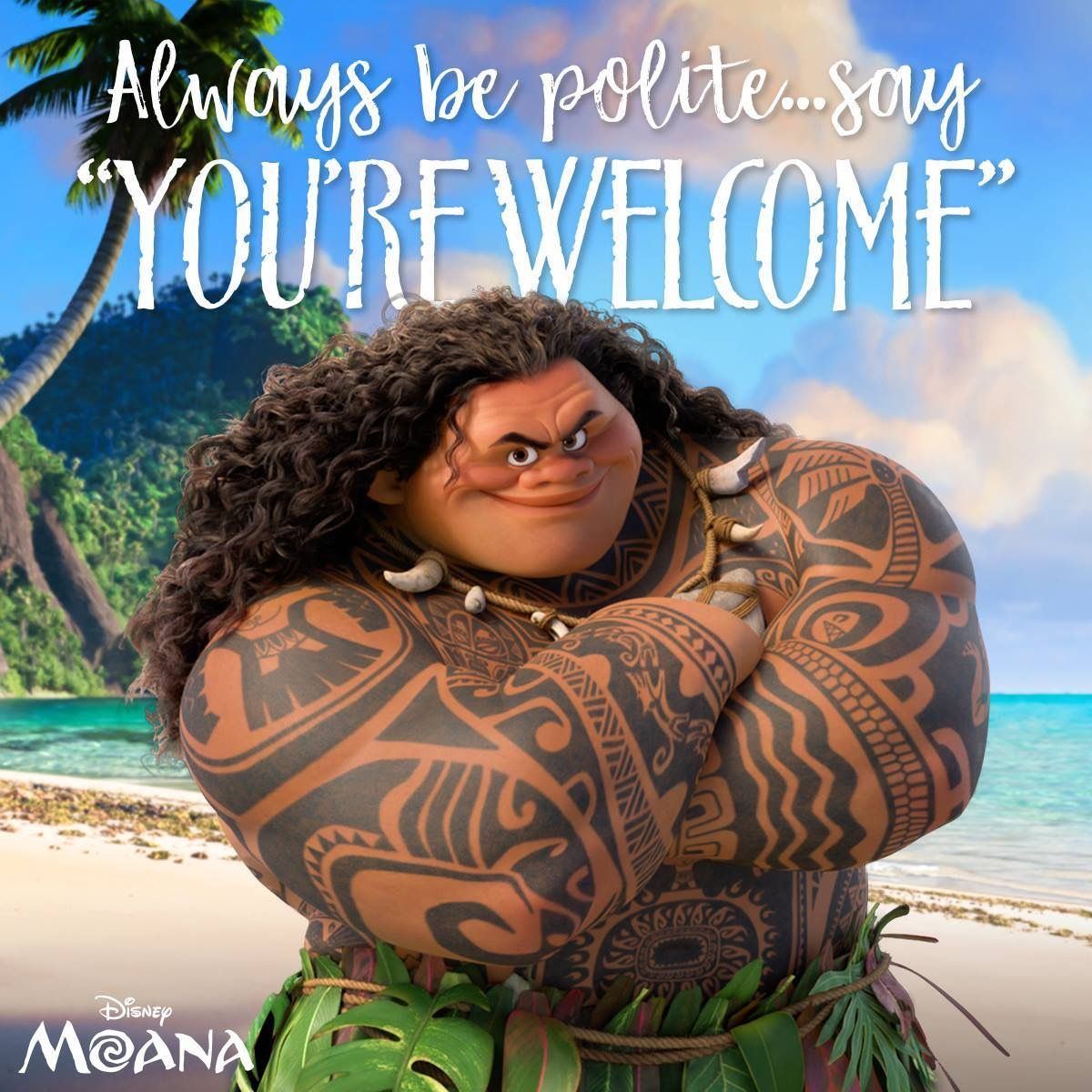 Disney Moana youre Maui youre Disney