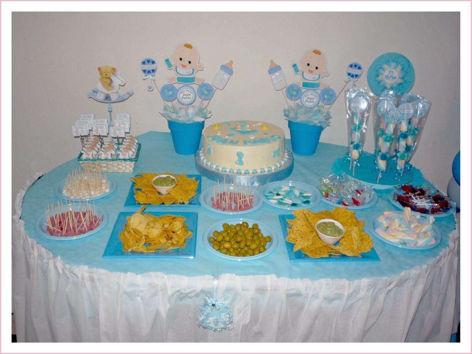 Baby nina fiestas baby shower para juan pablo ideas - Aperitivos para baby shower ...