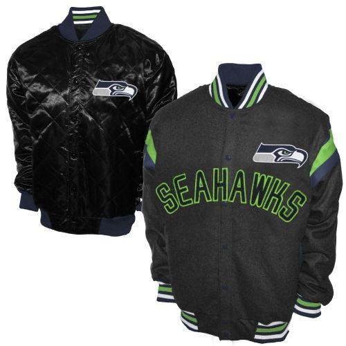 the latest e186b 795fe Seattle Seahawks Jackets & Coats | Seattle Seahawks Football ...