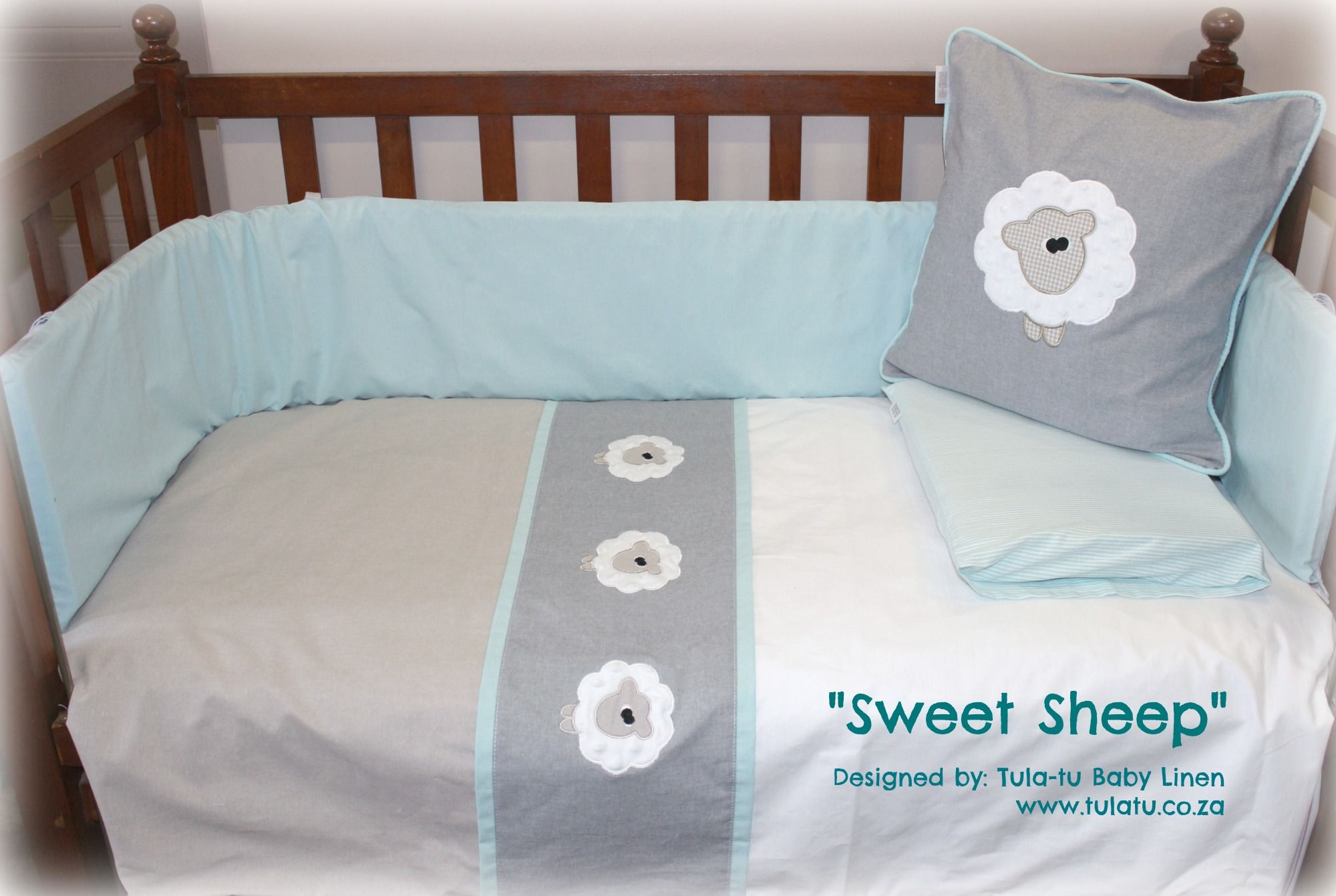 Baby cribs co za -  Sweet Sheep Baby Linen Crib Linen Designed By Tula Tu Baby Linen