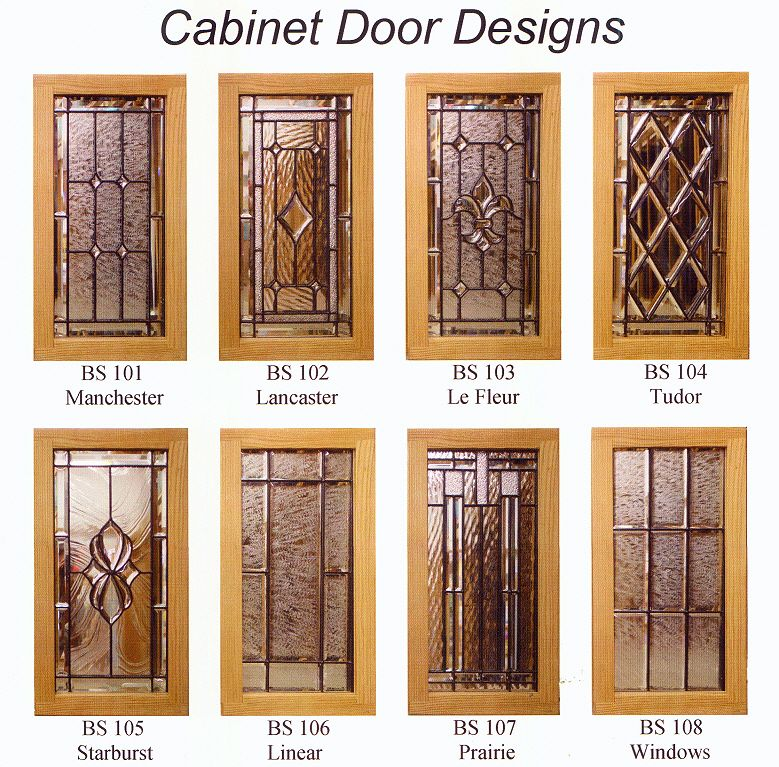 Leaded glass cabinet doors google search leaded glass for Kitchen cabinet doors with glass