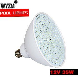 Amazon Com Wyzm 12volt Color Changing 35watt Swimming Pool Lights Led Bulb For Pentair Hayward Light Fixture 12v 35w Patio Swimming Pool Lights Led Bulb