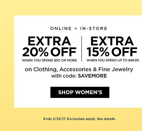 Women S Clothing Store Coupons Save Money Online Coding
