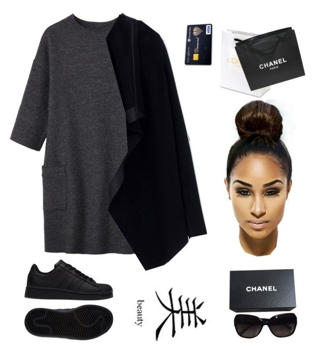 """""""A1"""" by mrskillagoals ❤ liked on Polyvore featuring Toast, adidas, Rick Owens and Chanel"""