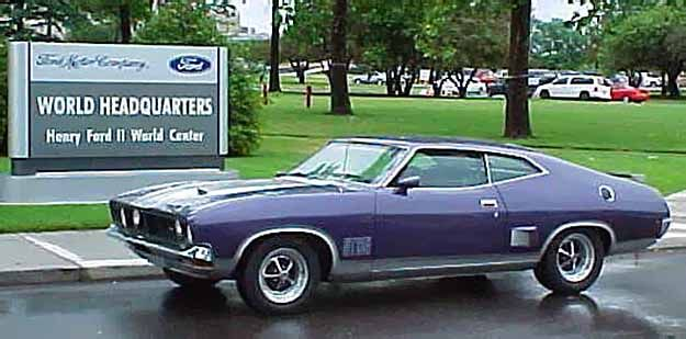 Aussie Muscle Cars Ford Falcon Xb Gt Coupe Blue Jpg