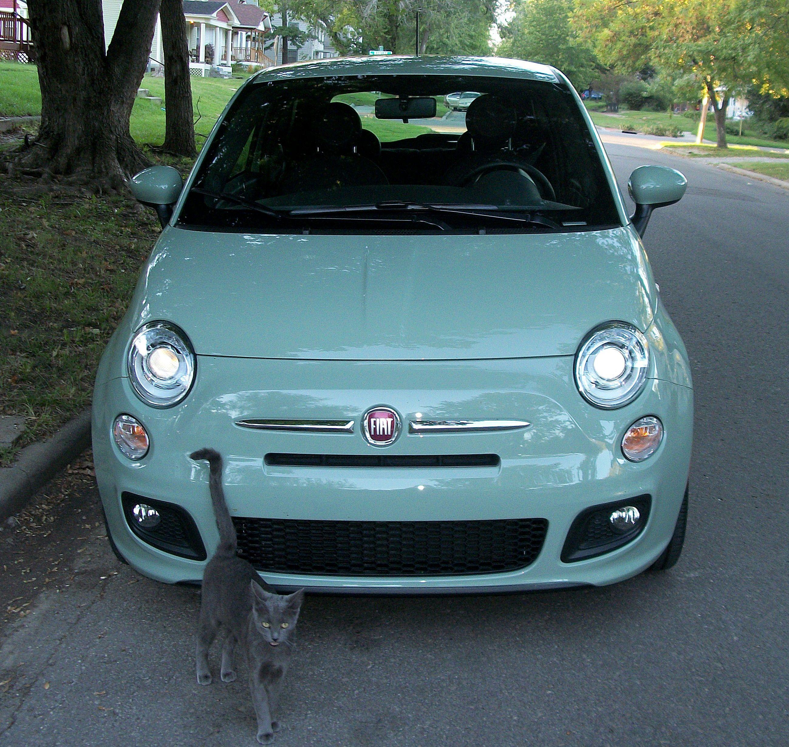 My New Fiat 500 Sport,