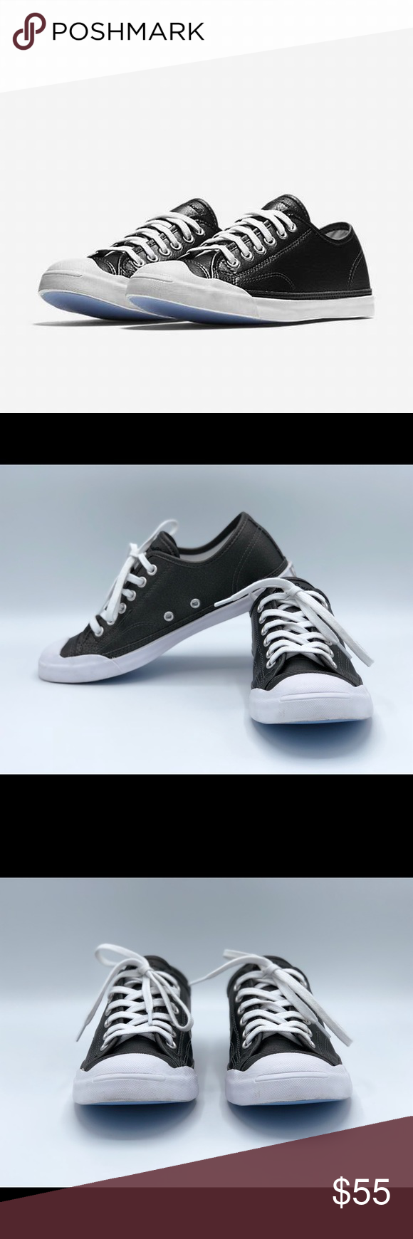 712526157d50 Converse Jack Purcell Metallic Leather These are almost new Converse Jack  Purcell LP Metallic Leather Low
