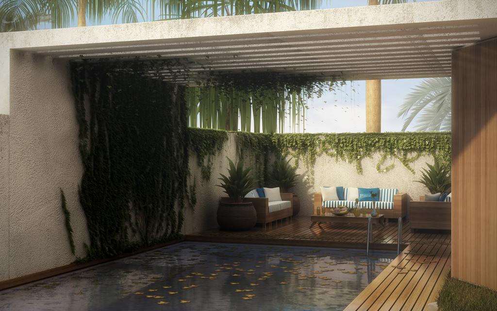 Villa in Cesarea - Pool lifestyle