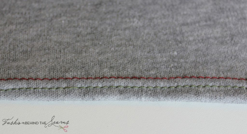 HI Folks, Last week I did a tutorial on how to attach a sleeve and a lot of people found that helpful. I received a request from a fellow sewist to do a tutorial on hemming knits using a twin need…