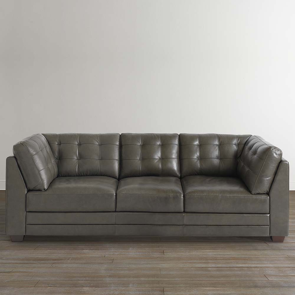 Gray Sofa An Element Of Luxury And Comfort With Images Leather Sofa Couch Grey Leather Sofa Leather Sofa Living Room
