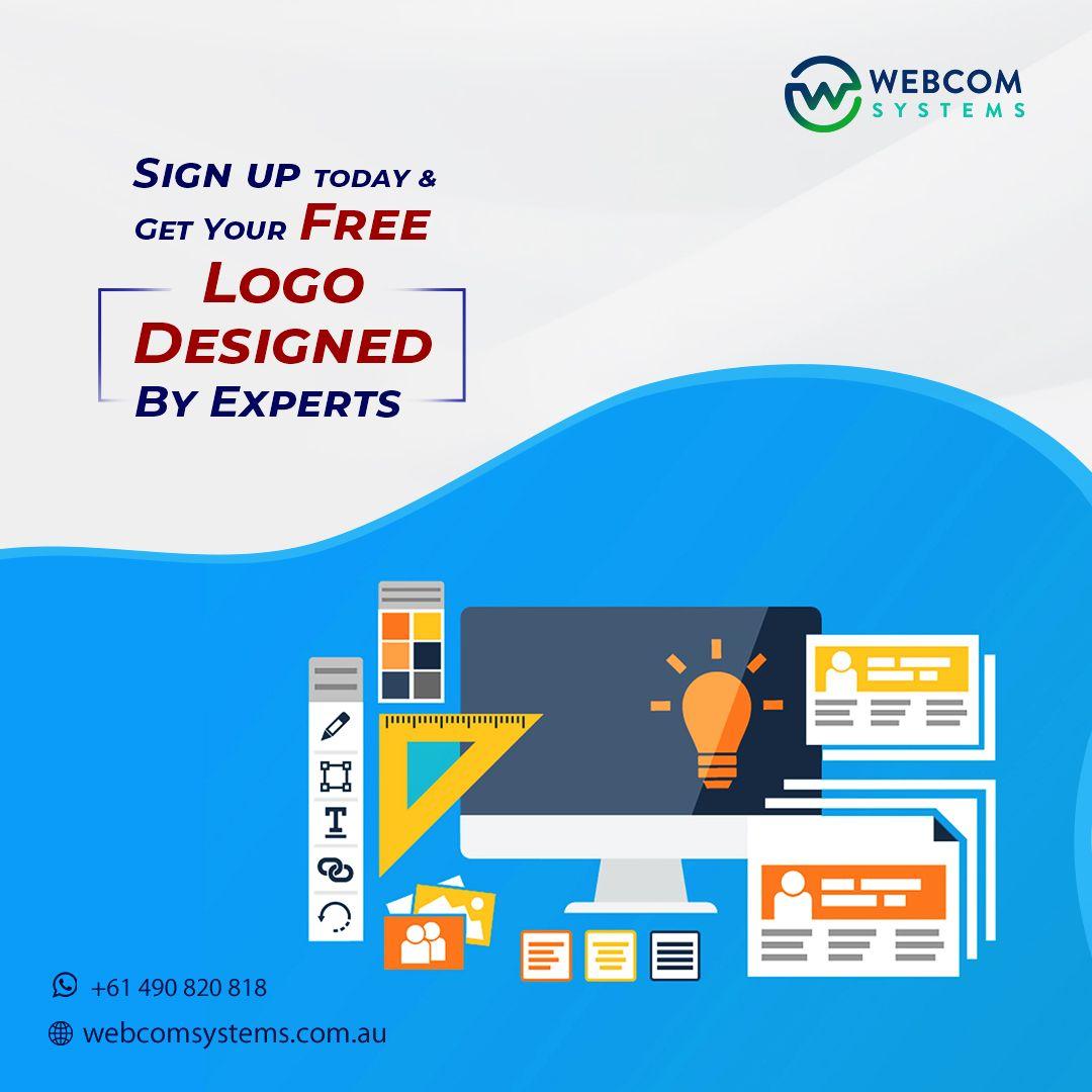 Get Free Logo Designed In 2020 Web Design Agency Logo Design Free Web Design