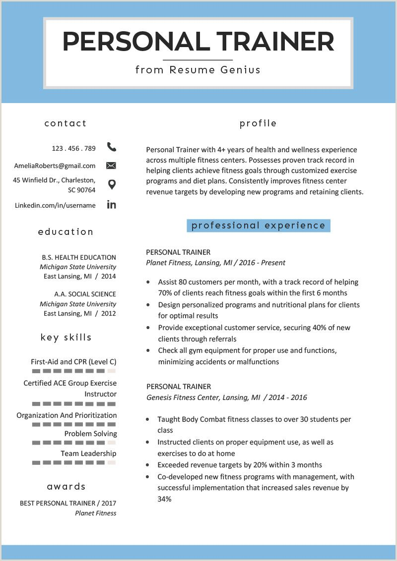 Fresher Resume format for Hotel Management in 2020 Job