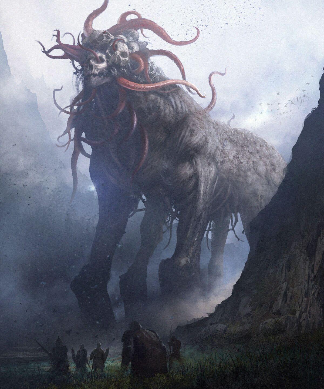Artstation Mist Dong Geon Son In 2019 Dark Creatures