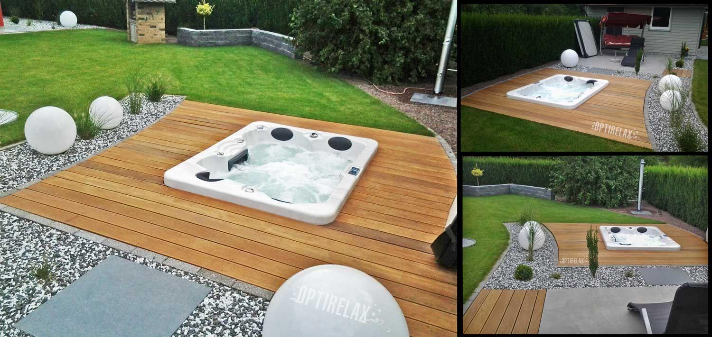 Outdoor Whirlpools von OPTIRELAX® kaufen Whirlpool