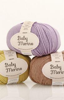 Farvekort for DROPS Baby Merino ~ DROPS Design Lækkert garn