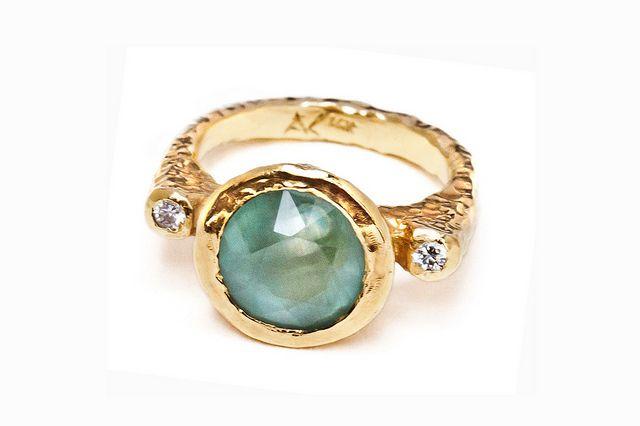 Anuok Jewelry: Aquamarine+Diamonds
