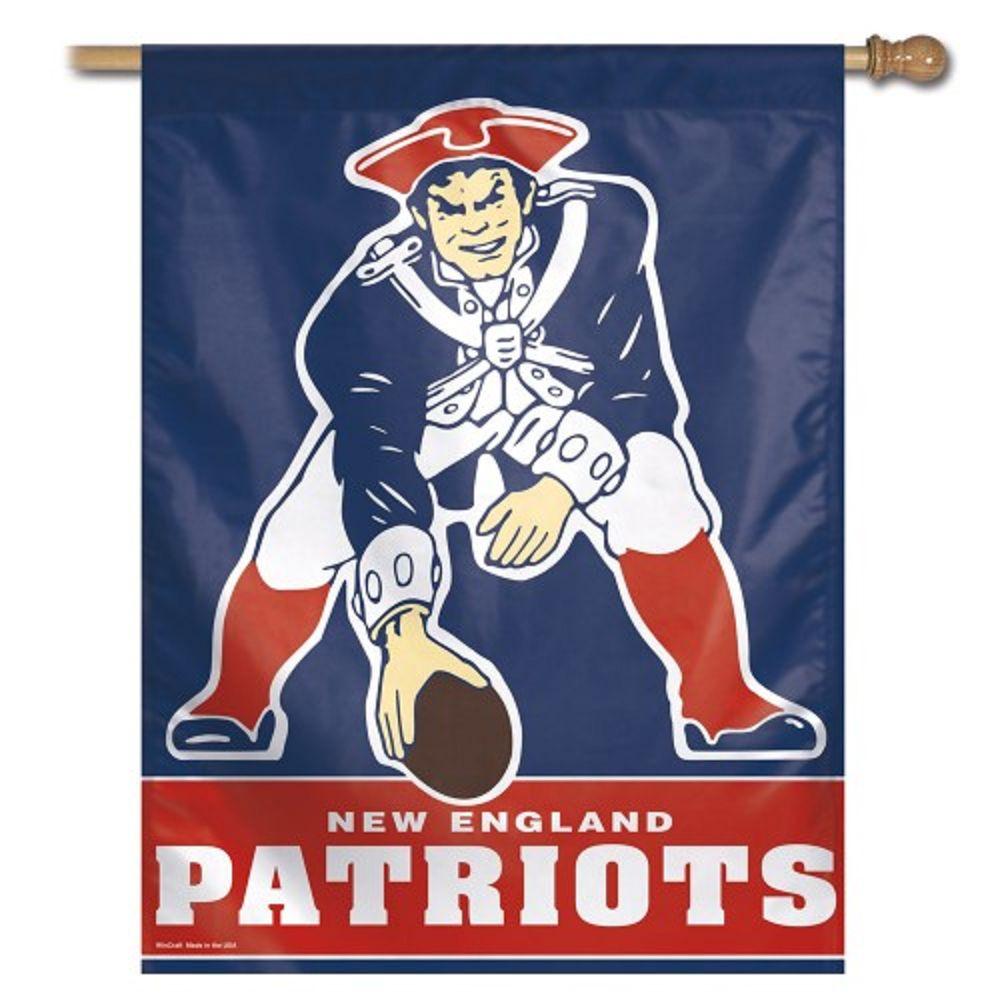 Throwback Logo Flag Nfl New England Patriots Patriots Logo