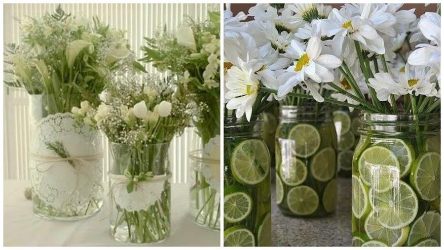 Inspiradoras ideas para decorar una comunión Comunión, Ideas para - decorar jarrones altos