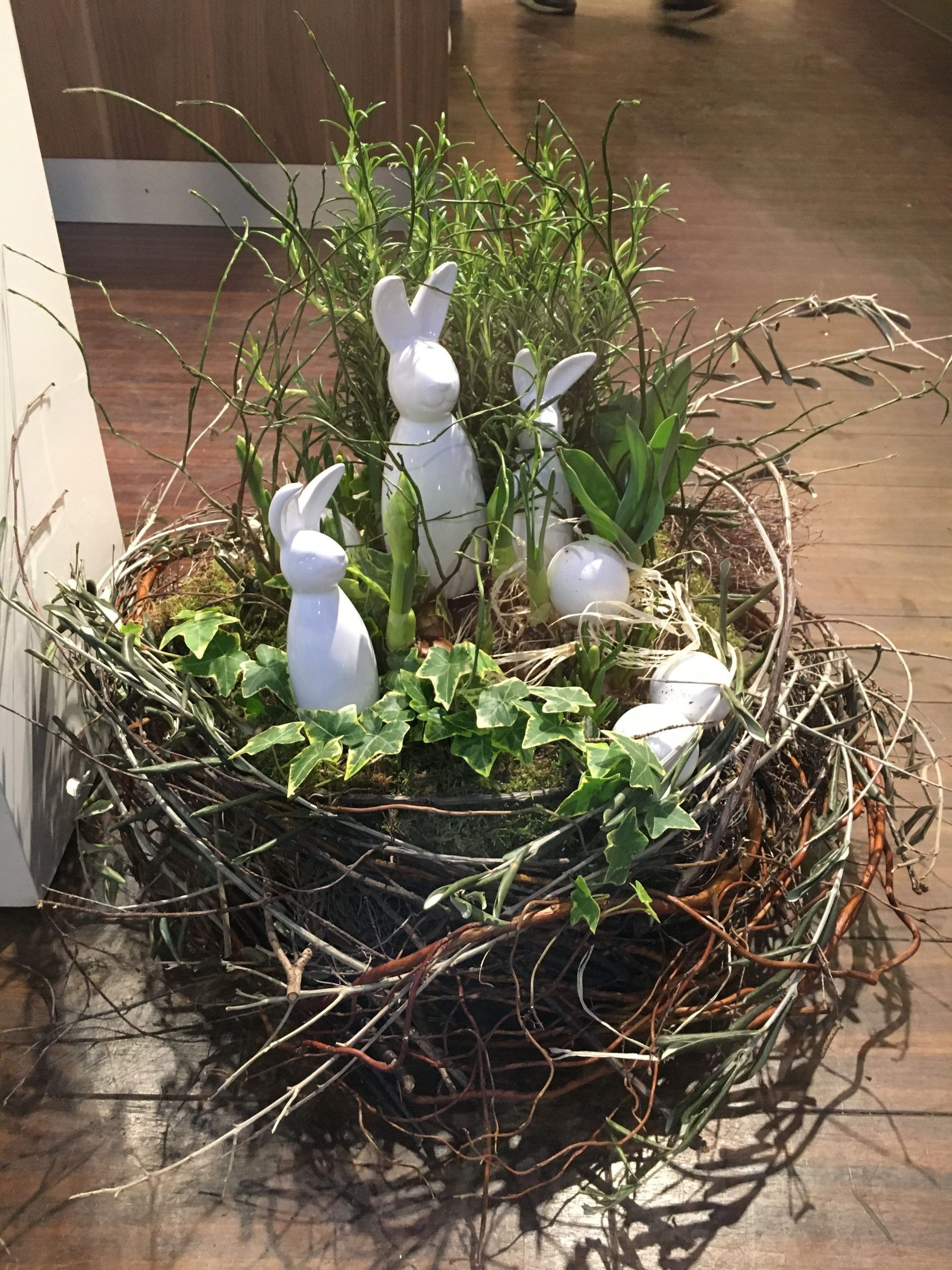 Photo of Osterde – #Osterde – Easter decoration garden concrete