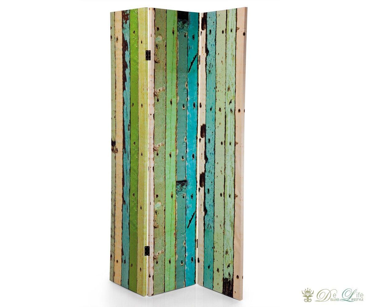 Paravent no trespassing 120x180 cm bunt sichtschutz for Dekoration wohnzimmer ebay