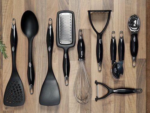 New Kitchen Ergo Utensils Cooking Set Stylish 10 Piece Sebastian Conran Pro