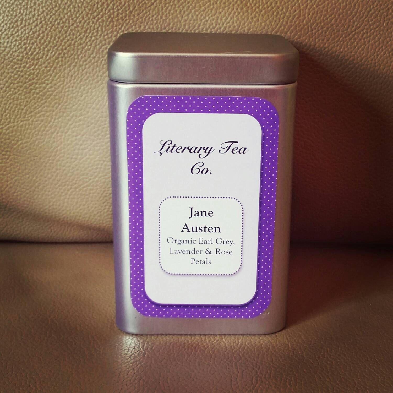 Jane Austen Tea by LiteraryTeaCo on Etsy https://www.etsy.com/listing/207588068/jane-austen-tea