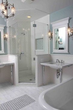 Houzz Bathrooms  Traditional Bathroom Designchicago Design Endearing Bathroom Designer Chicago 2018
