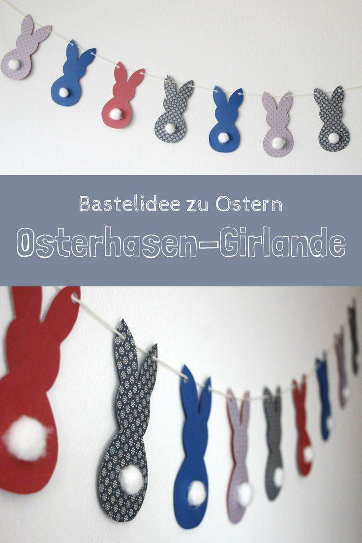 Photo of Bastelidee für Ostern: Osterhasen-Girlande – Lavendelblog