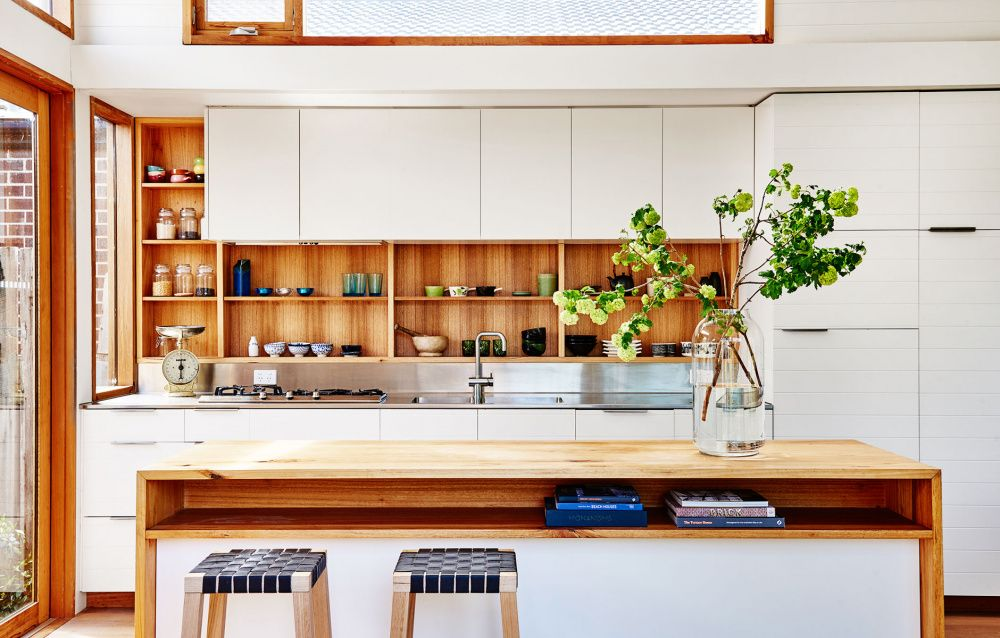 A Tonal, Tiny North Melbourne Cottage Latest kitchen