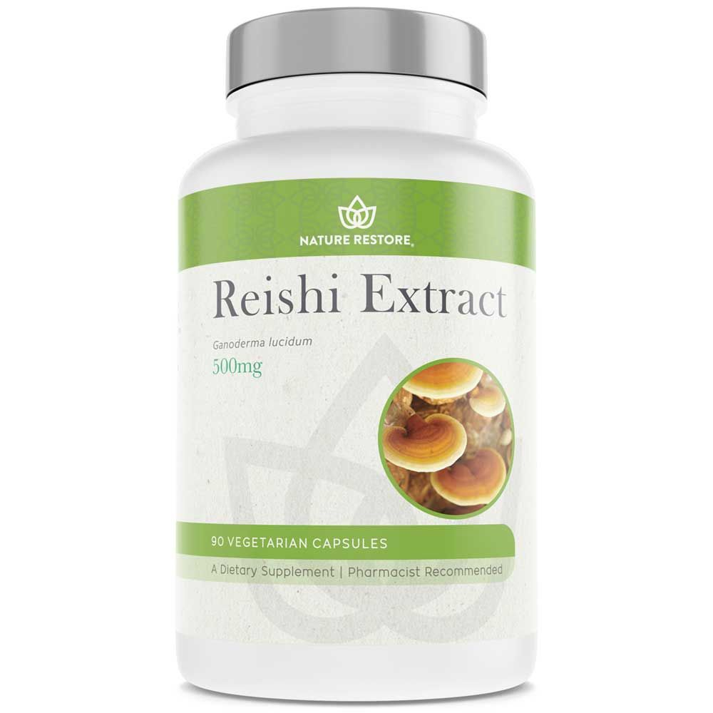 18+ Reishi Mushroom Extract Supplement   Buy 1