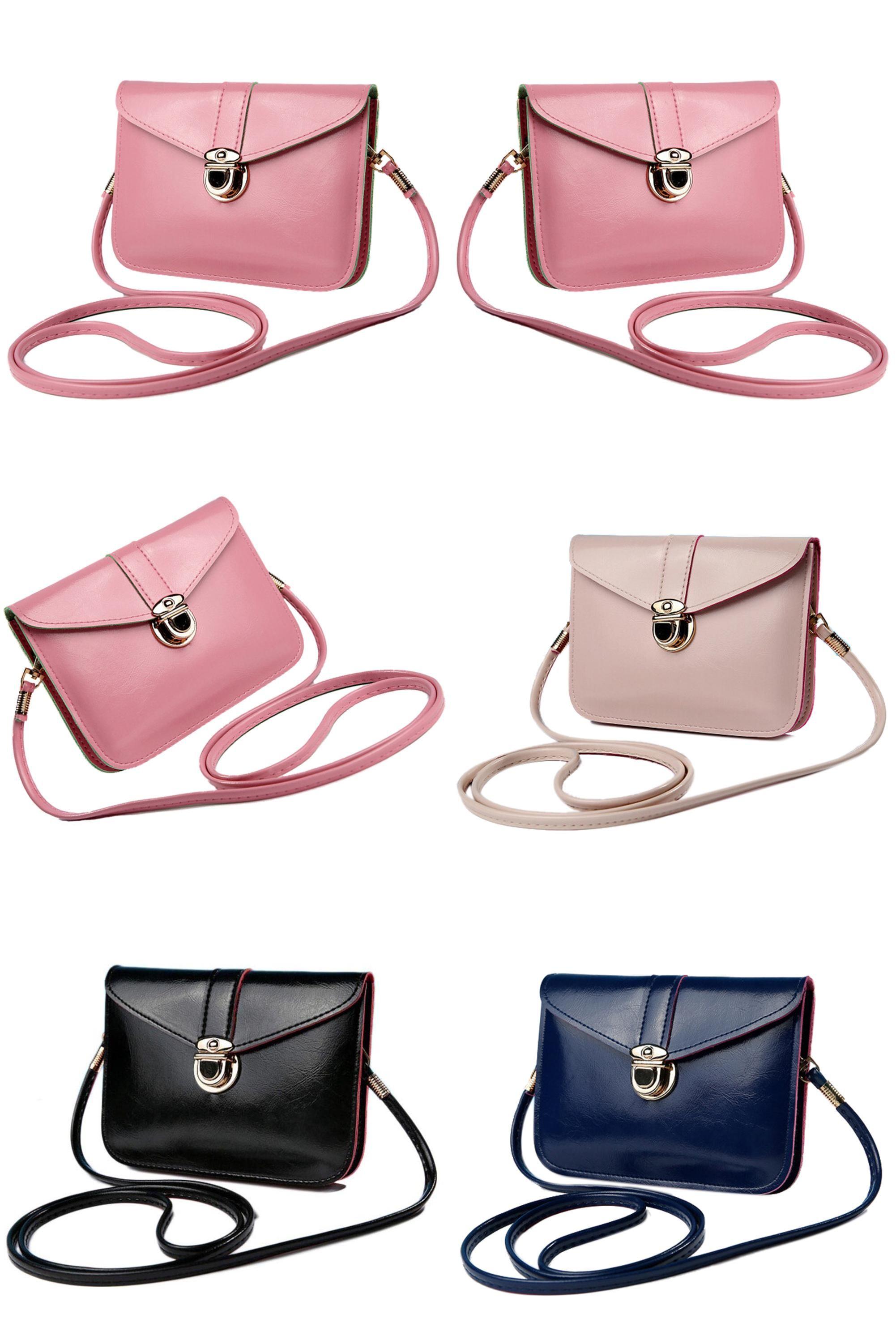 Retro European Style Handbags High-Quality PU Leather