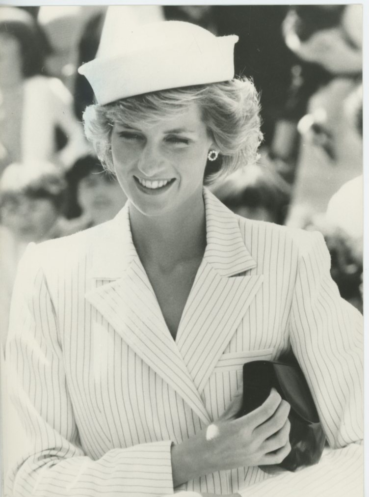 October 28, 1985:  Princess Diana visiting Portland, Victoria