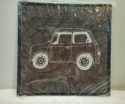 Tin Wall Art by Michaels Car 8 inch by 8 inch New in plastic