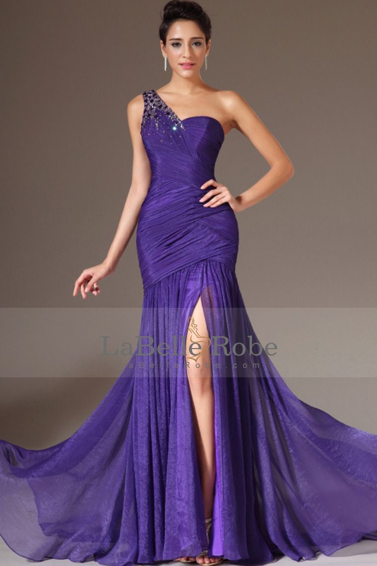 V Neck Sequin and Rhinestone Detailed Mermaid Evening Dress ...