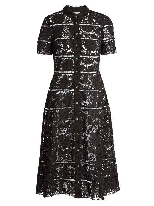 b3fa4f723e8 ZIMMERMANN Gossamer Bell-Lace Cotton Dress. #zimmermann #cloth #dress
