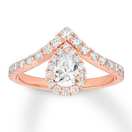 322714b85ed2f3 Neil Lane Diamond Engagement Ring 1 ct tw 14K Rose Gold | Jewelry I ...