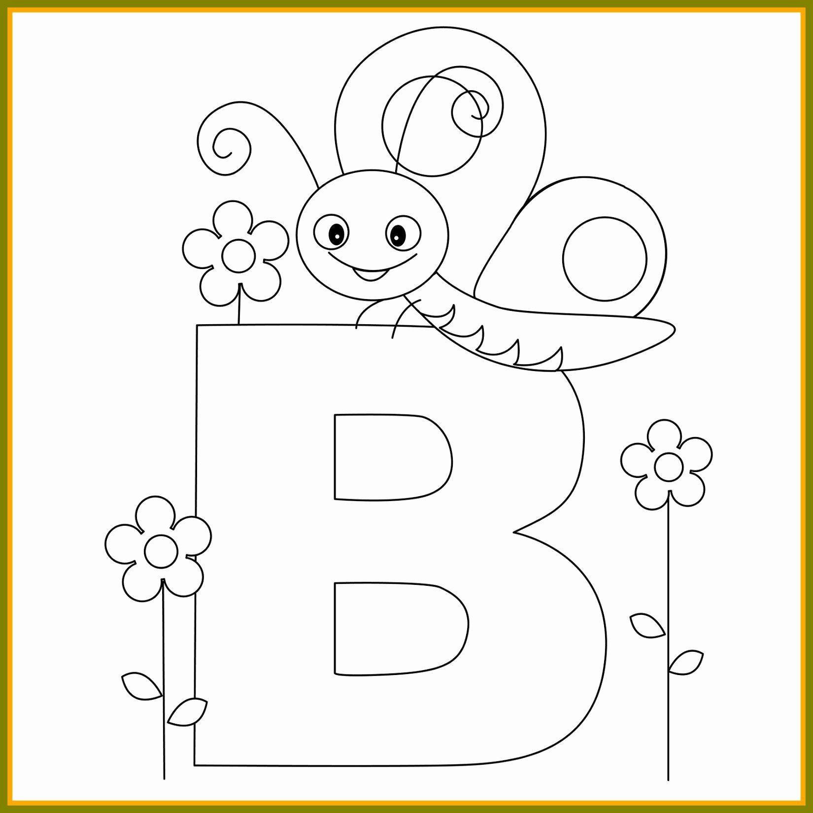 Alphabet Coloring Pages For Preschoolers Elegant Letter C Coloring Pages For Toddle Kindergarten Coloring Pages Butterfly Coloring Page Letter B Coloring Pages