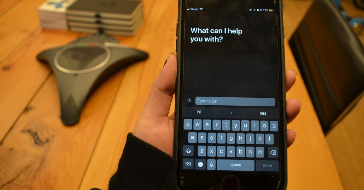 How to enable and use the type to siri feature in ios 11