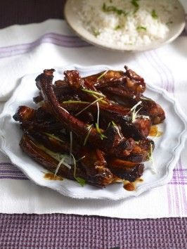Asian pork ribs recipe pork rib recipes asian pork and pork ribs food cooking channel serves up this asian pork ribs recipe forumfinder Image collections