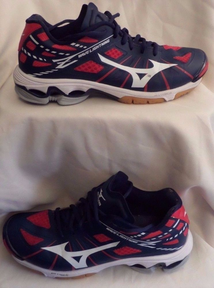 mizuno volleyball shoes red gold