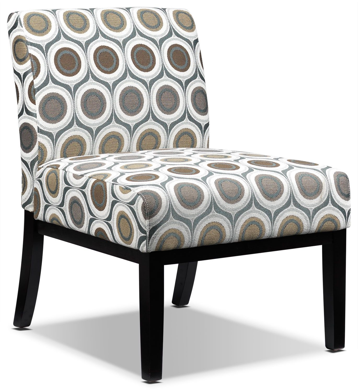 Leons Furniture Kitchener Accent Chair Living Room Furniture Daphne Fabric Accent Chair