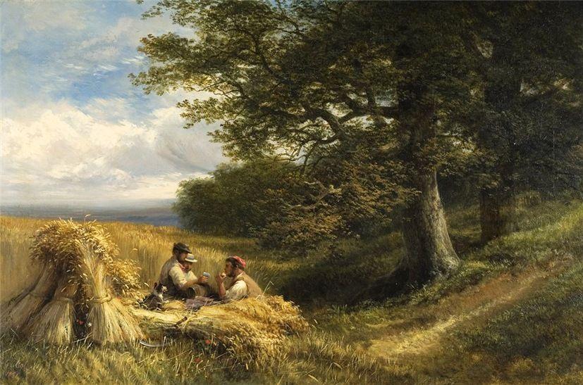 Страдная пора... Vicat Cole, RA (British, 18331893