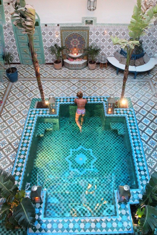 Riad Be Marrakech Indoor Pool Design Pool Houses Small Indoor Pool