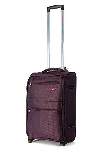 Aerolite Lightweight Luggage Trolley Suitcases, 4 Wheel Spinners ...