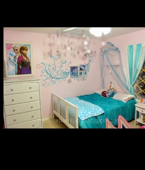 cool frozen bedroom kinderzimmer pinterest kinderzimmer. Black Bedroom Furniture Sets. Home Design Ideas