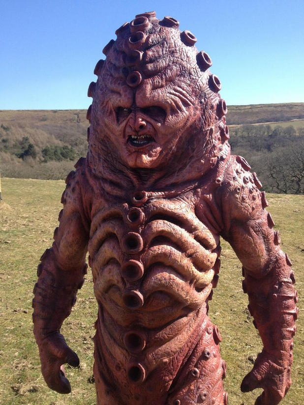 First Images Of Zygons And Filming From Doctor Who 50th Anniversary Episode