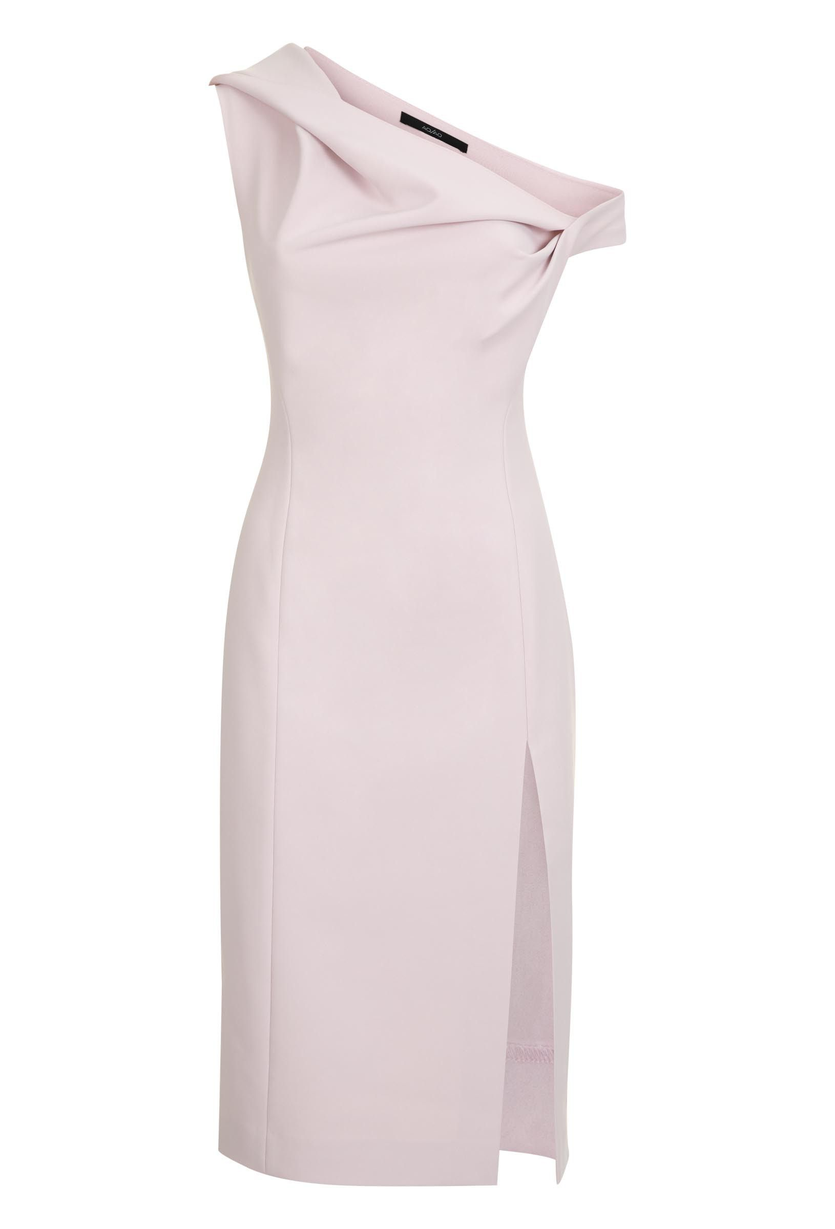 Didion Structured Knee Length Dress Pale Lilac Knee Length Dress Dresses Fitted Midi Dress [ 2400 x 1630 Pixel ]