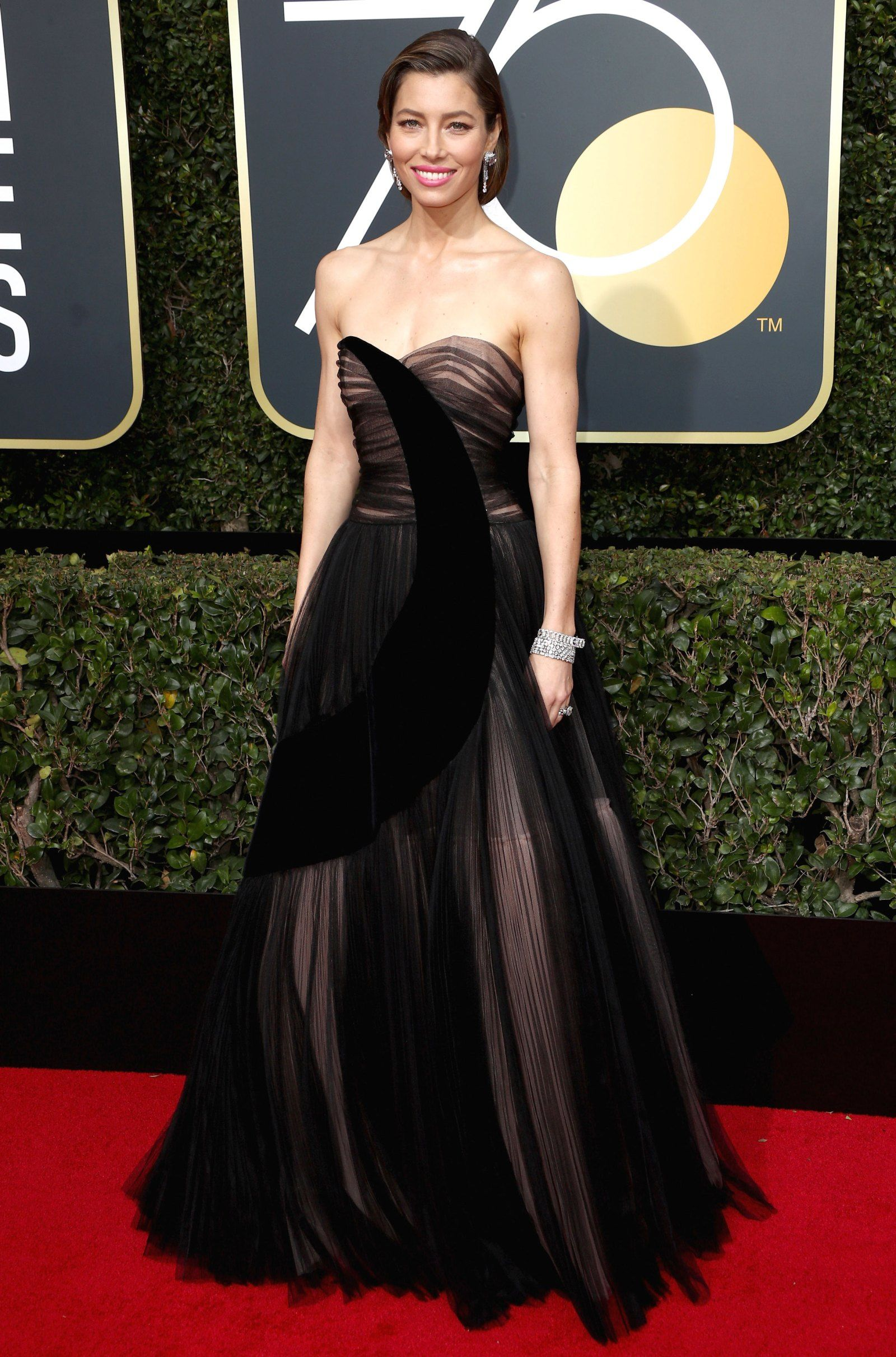Golden globes red carpet fashion see stars dresses gowns