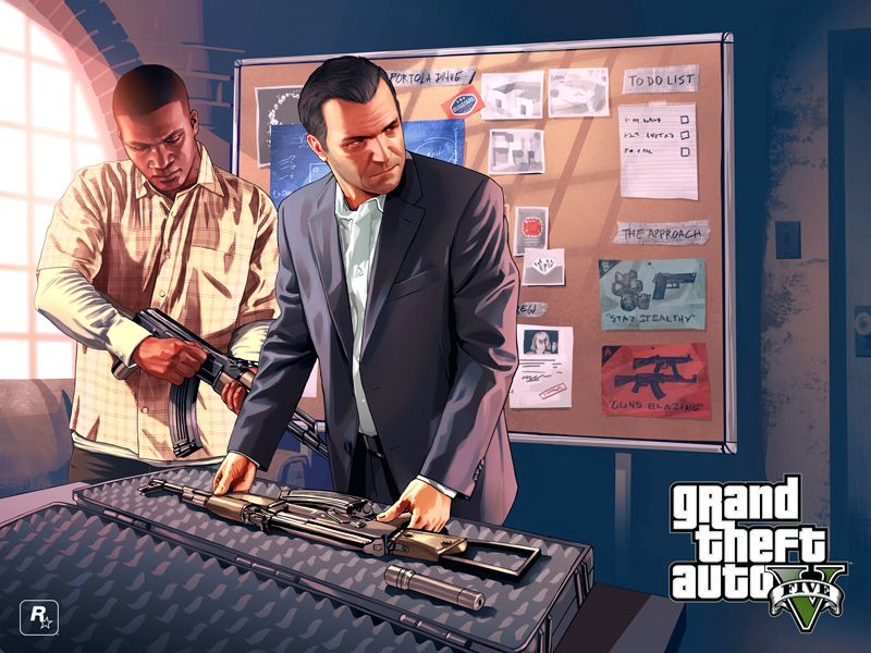 Rockstar founder Sam Houser gives his two cents on 'GTA V
